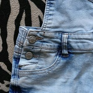 Blue Spice Jeans - Demin Shorts Overalls